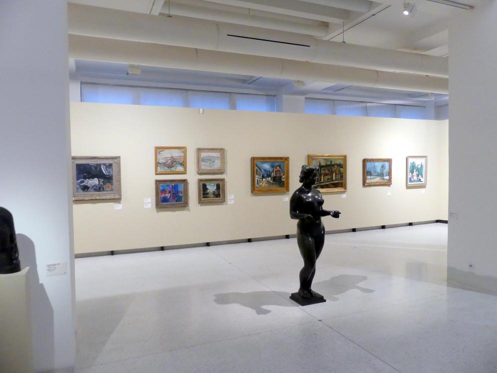 Prag, Nationalgalerie im Messepalast, 1918-1939, Saal 4, Bild 2/3