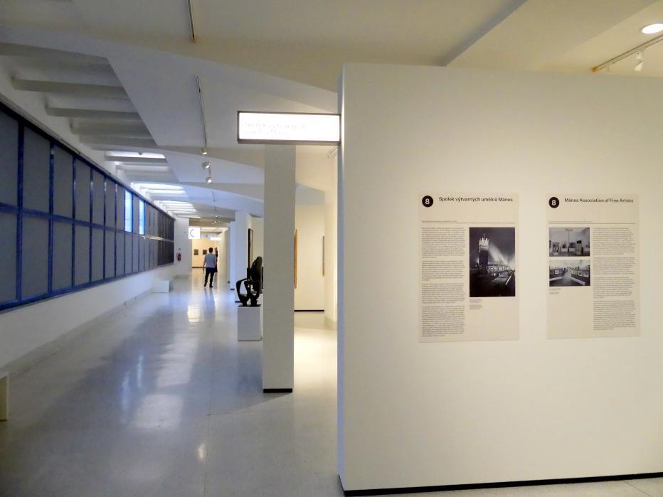 Prag, Nationalgalerie im Messepalast, 1918-1939, Saal 8, Bild 1/14