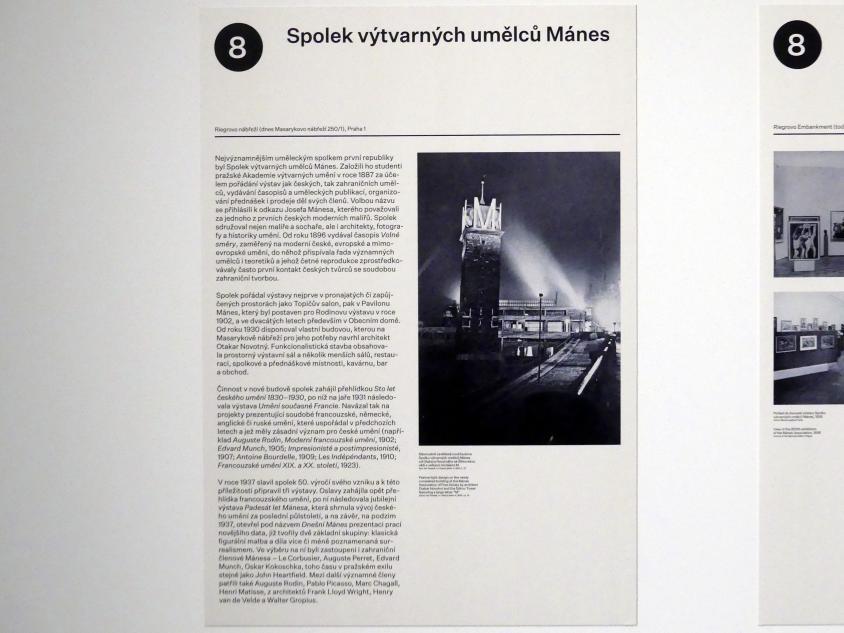 Prag, Nationalgalerie im Messepalast, 1918-1939, Saal 8, Bild 2/14