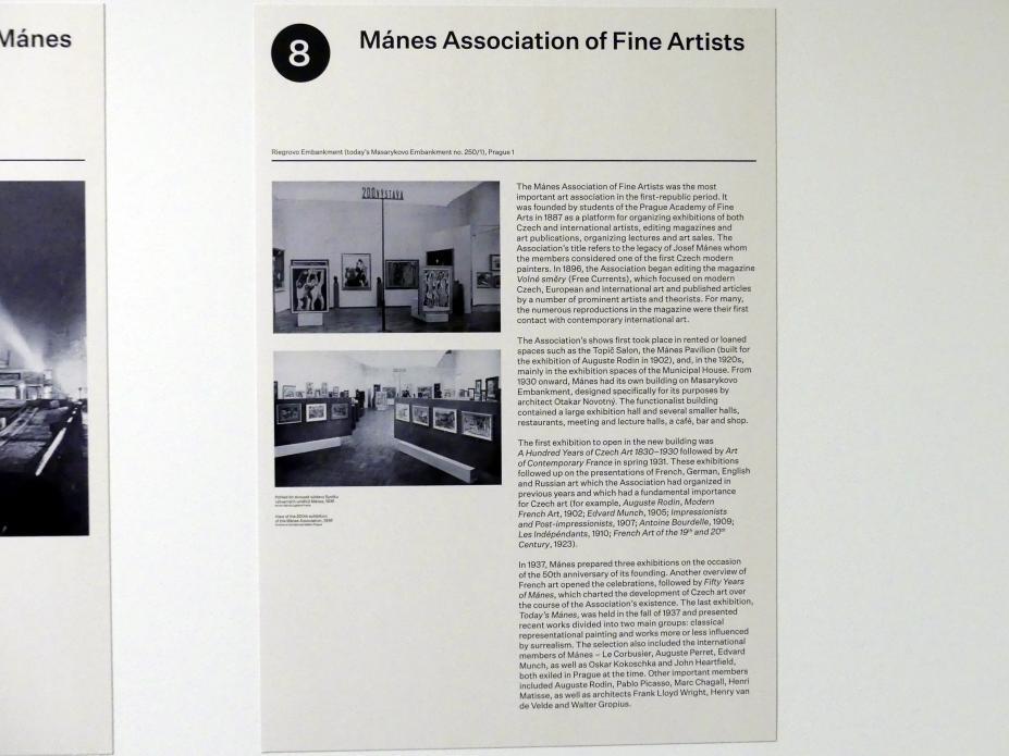 Prag, Nationalgalerie im Messepalast, 1918-1939, Saal 8, Bild 3/14