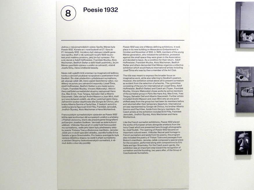 Prag, Nationalgalerie im Messepalast, 1918-1939, Saal 8, Bild 5/14