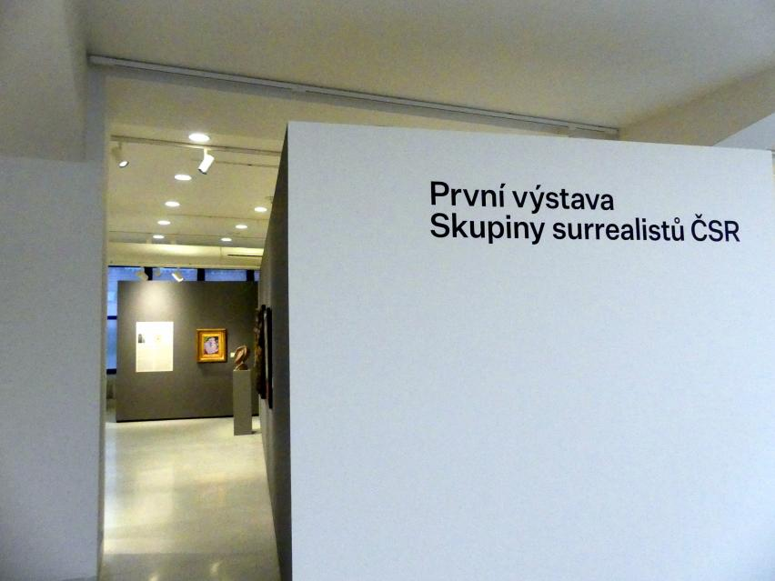 Prag, Nationalgalerie im Messepalast, 1918-1939, Saal 8, Bild 13/14