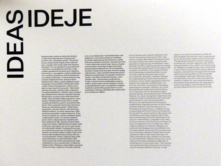 Prag, Nationalgalerie im Messepalast, Das lange Jahrhundert, Saal 23, Bild 2/3