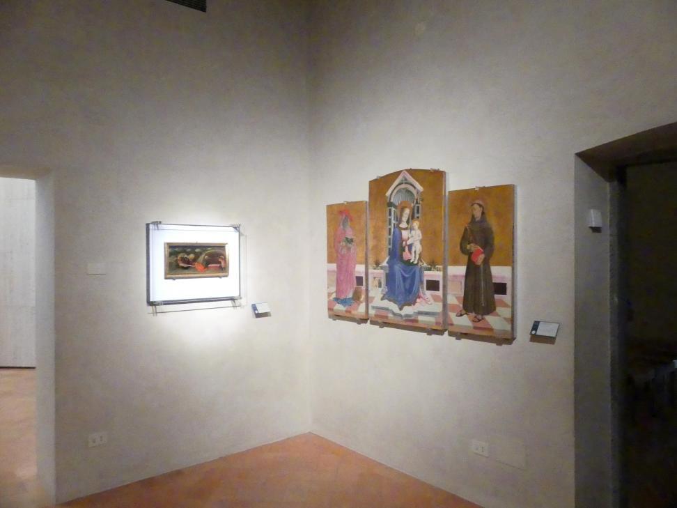 Perugia, Nationalgalerie von Umbrien (Galleria nazionale dell'Umbria), 12: Niccolò di Liberatore, detto l'Alunno, Bild 1/2