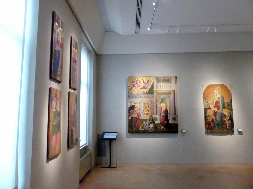Perugia, Nationalgalerie von Umbrien (Galleria nazionale dell'Umbria), 14: Benedetto Bonfigli, Bild 1/5