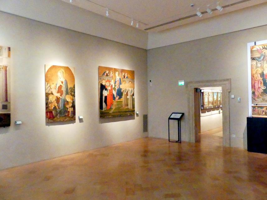 Perugia, Nationalgalerie von Umbrien (Galleria nazionale dell'Umbria), 14: Benedetto Bonfigli, Bild 2/5