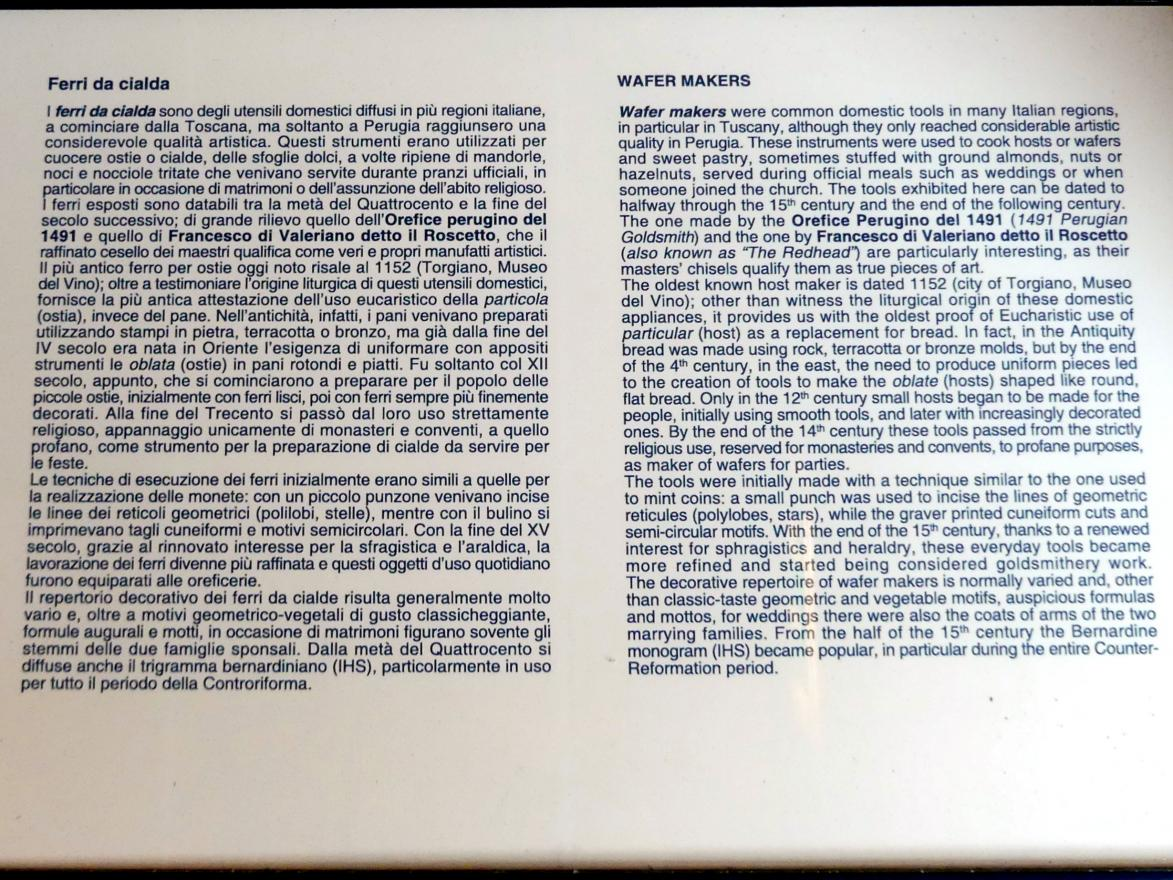 Perugia, Nationalgalerie von Umbrien (Galleria nazionale dell'Umbria), 20: Francesco di Valeriano, Bild 2/15