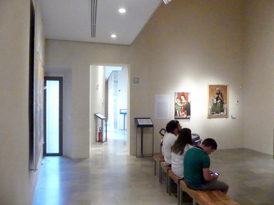 Perugia, Nationalgalerie von Umbrien (Galleria nazionale dell'Umbria), 24: Bernardino di Betto detto Pinturicchio, Bild 1/5