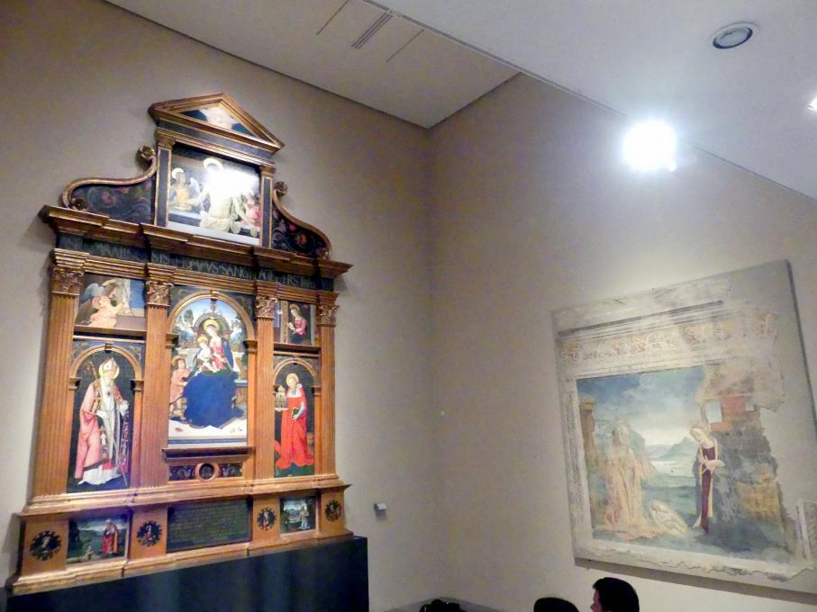 Perugia, Nationalgalerie von Umbrien (Galleria nazionale dell'Umbria), 24: Bernardino di Betto detto Pinturicchio, Bild 2/5