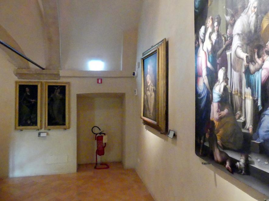 Perugia, Nationalgalerie von Umbrien (Galleria nazionale dell'Umbria), 35: Giovanbattista Naldini, Bild 1/2