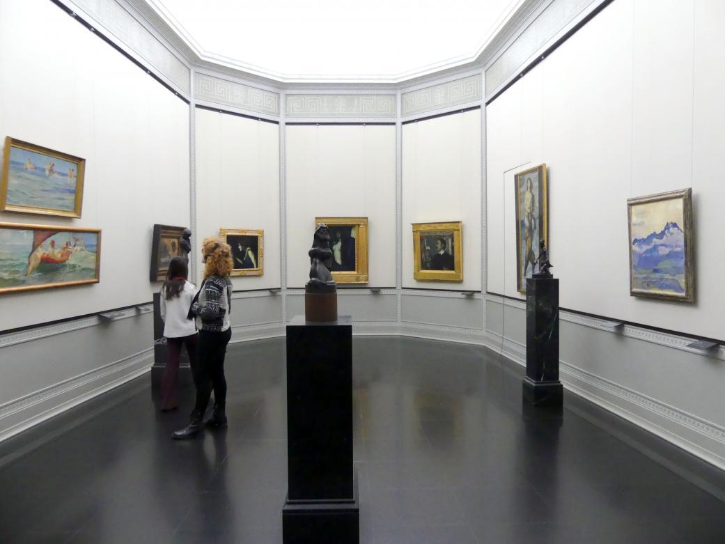 Berlin, Alte Nationalgalerie, Saal 115, Secessionen und Jahrhundertwende