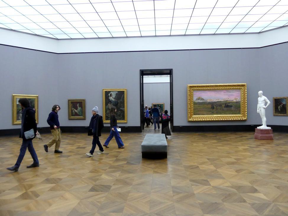 Berlin, Alte Nationalgalerie, Saal 202, Deutschrömer, Bild 1/2