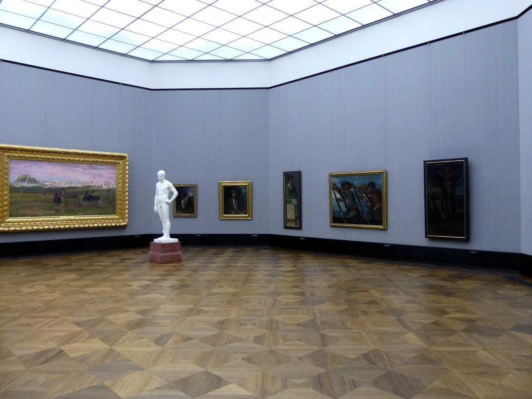 Berlin, Alte Nationalgalerie, Saal 202, Deutschrömer, Bild 2/2