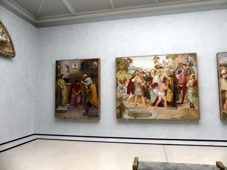 Berlin, Alte Nationalgalerie, Saal 302, Wandbilder aus der Casa Bartholy, Bild 1/4