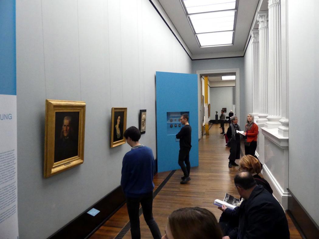 Berlin, Alte Nationalgalerie, Saal 304, Künstlerinnen der Nationalgalerie vor 1919, Bild 1/3