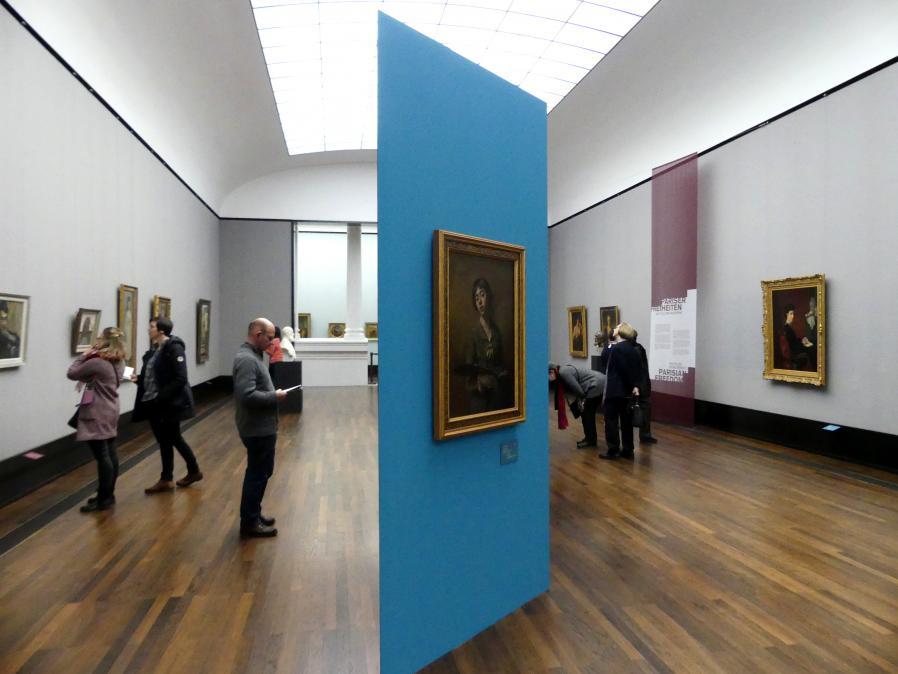 Berlin, Alte Nationalgalerie, Saal 305, Künstlerinnen der Nationalgalerie vor 1919, Bild 1/4