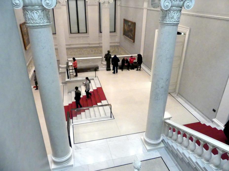 Berlin, Alte Nationalgalerie, Treppenhaus, Bild 5/7