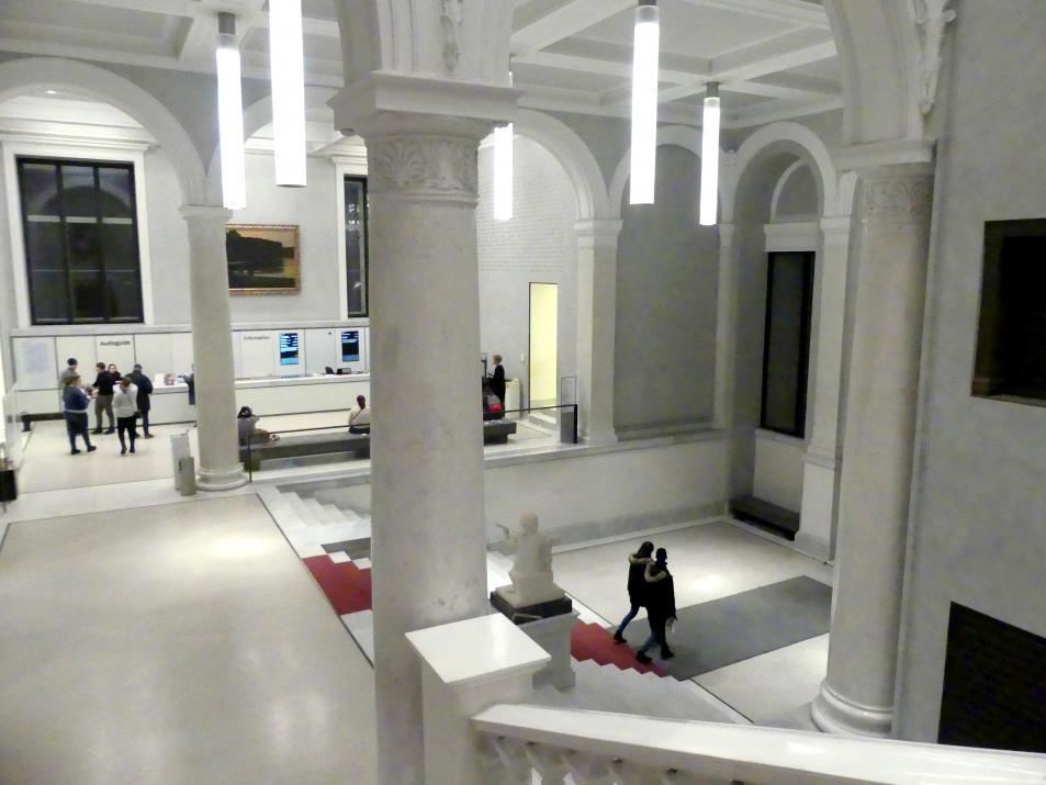 Berlin, Alte Nationalgalerie, Treppenhaus, Bild 7/7