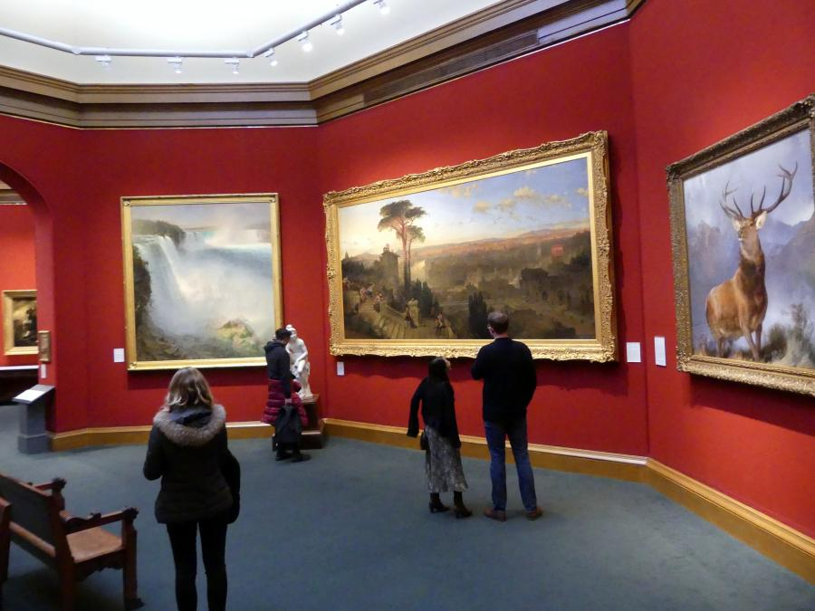 Edinburgh, Scottish National Gallery, Saal 12, Malerei als Schauspiel, Bild 1/3
