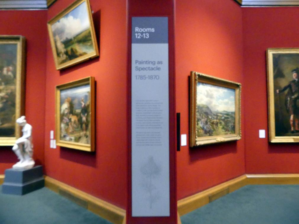 Edinburgh, Scottish National Gallery, Saal 12, Malerei als Schauspiel, Bild 3/3
