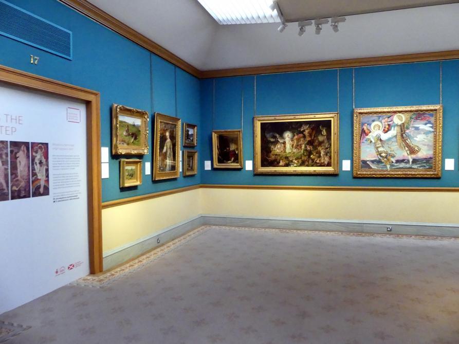 Edinburgh, Scottish National Gallery, Saal 17, Einhundert Jahre Schottische Kunst 1820-1920, Bild 1/2