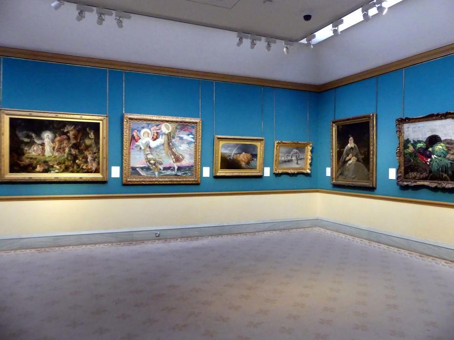 Edinburgh, Scottish National Gallery, Saal 17, Einhundert Jahre Schottische Kunst 1820-1920, Bild 2/2