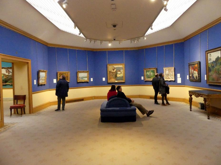 Edinburgh, Scottish National Gallery, Saal 18, Impressionismus und Post-Impressionismus