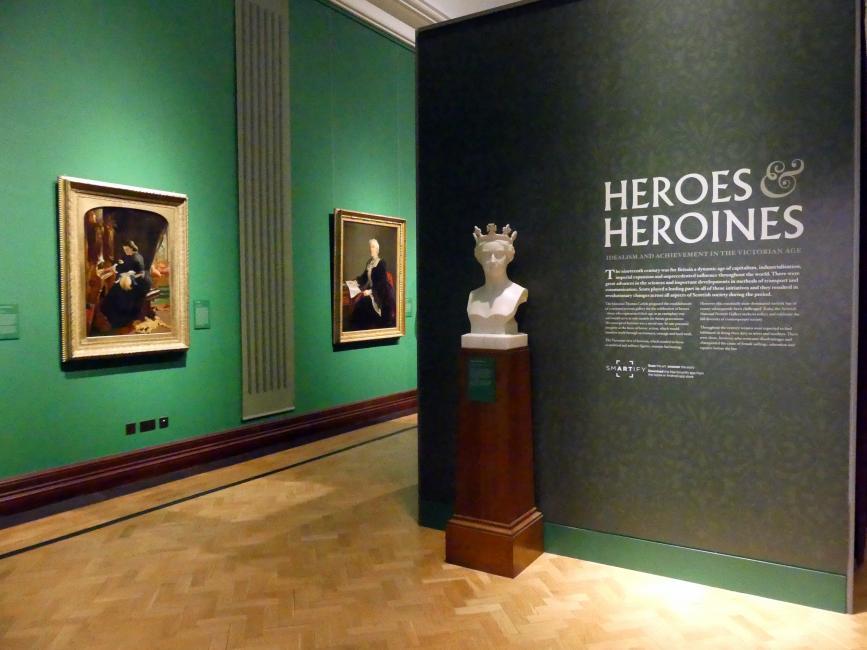 Edinburgh, Scottish National Portrait Gallery, Saal 10, Bild 1/2