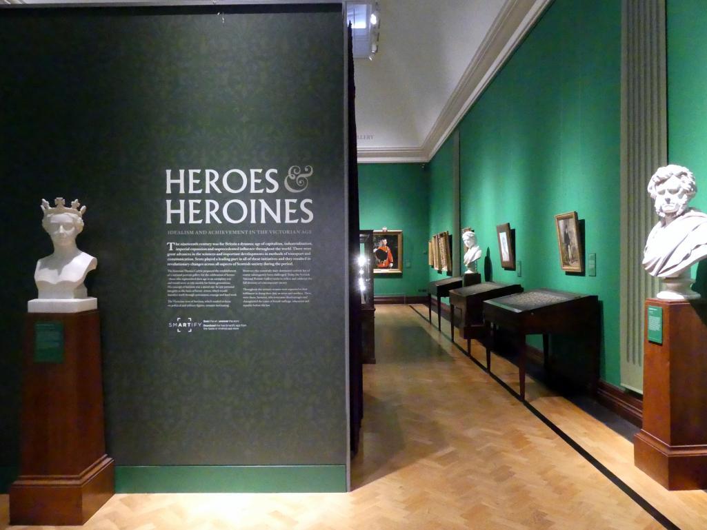 Edinburgh, Scottish National Portrait Gallery, Saal 10, Bild 2/2