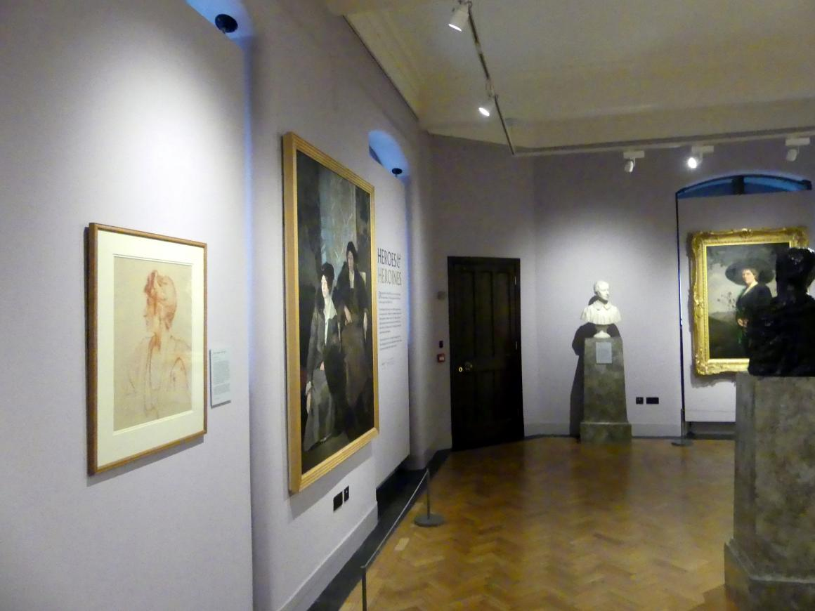 Edinburgh, Scottish National Portrait Gallery, Saal 8, Bild 1/2