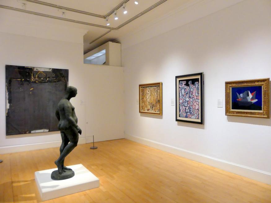 Edinburgh, Scottish National Gallery of Modern Art, Gebäude One, Saal 19: jenseits der Farbe: Gestik und Materialität in der Nachkriegszeit - europäische Kunst, Bild 2/4