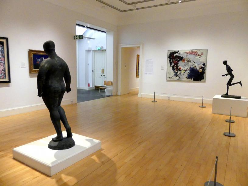 Edinburgh, Scottish National Gallery of Modern Art, Gebäude One, Saal 19: jenseits der Farbe: Gestik und Materialität in der Nachkriegszeit - europäische Kunst, Bild 4/4