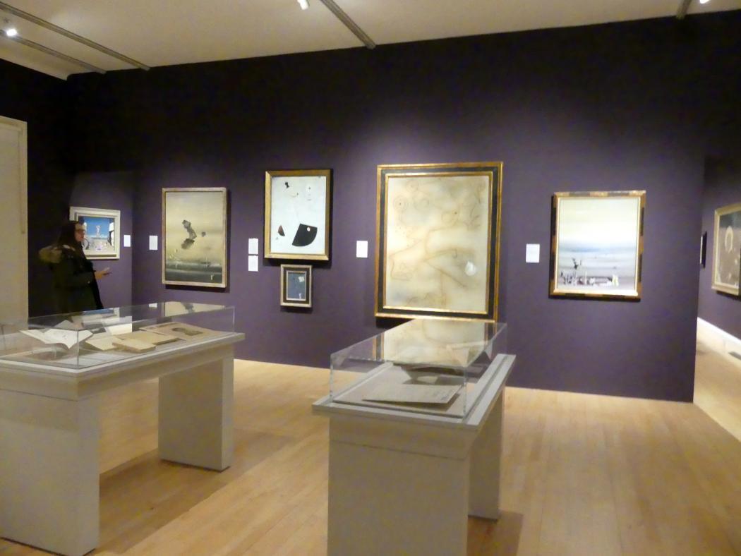 Edinburgh, Scottish National Gallery of Modern Art, Gebäude One, Saal 20: jenseits des Realismus - Dada und Surrealismus, Bild 2/4