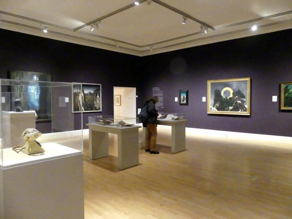 Edinburgh, Scottish National Gallery of Modern Art, Gebäude One, Saal 20: jenseits des Realismus - Dada und Surrealismus, Bild 4/4