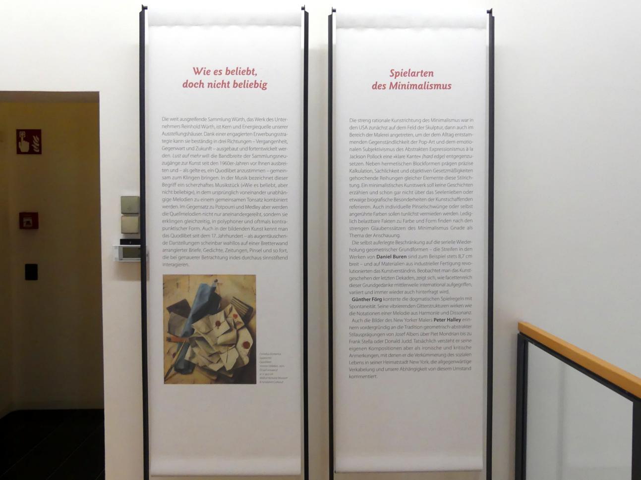 """Schwäbisch Hall, Kunsthalle Würth, Ausstellung """"Lust auf mehr"""" vom 30.9.2019 - 20.9.2020, Obergeschoss, Bild 5/11"""
