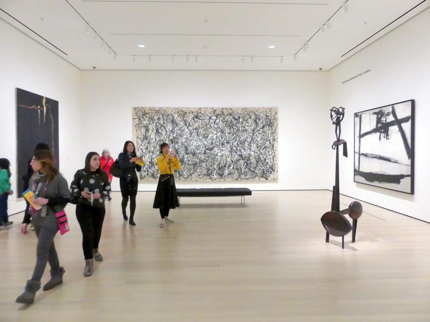 New York, Museum of Modern Art (MoMA), Saal 403, Bild 1/3