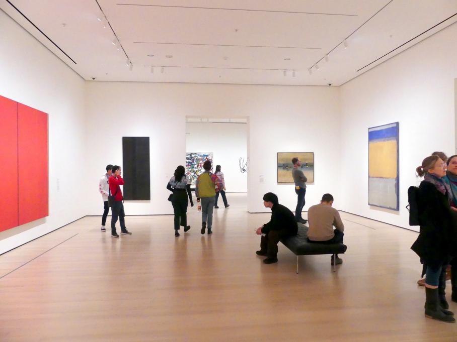 New York, Museum of Modern Art (MoMA), Saal 404, Bild 1/2