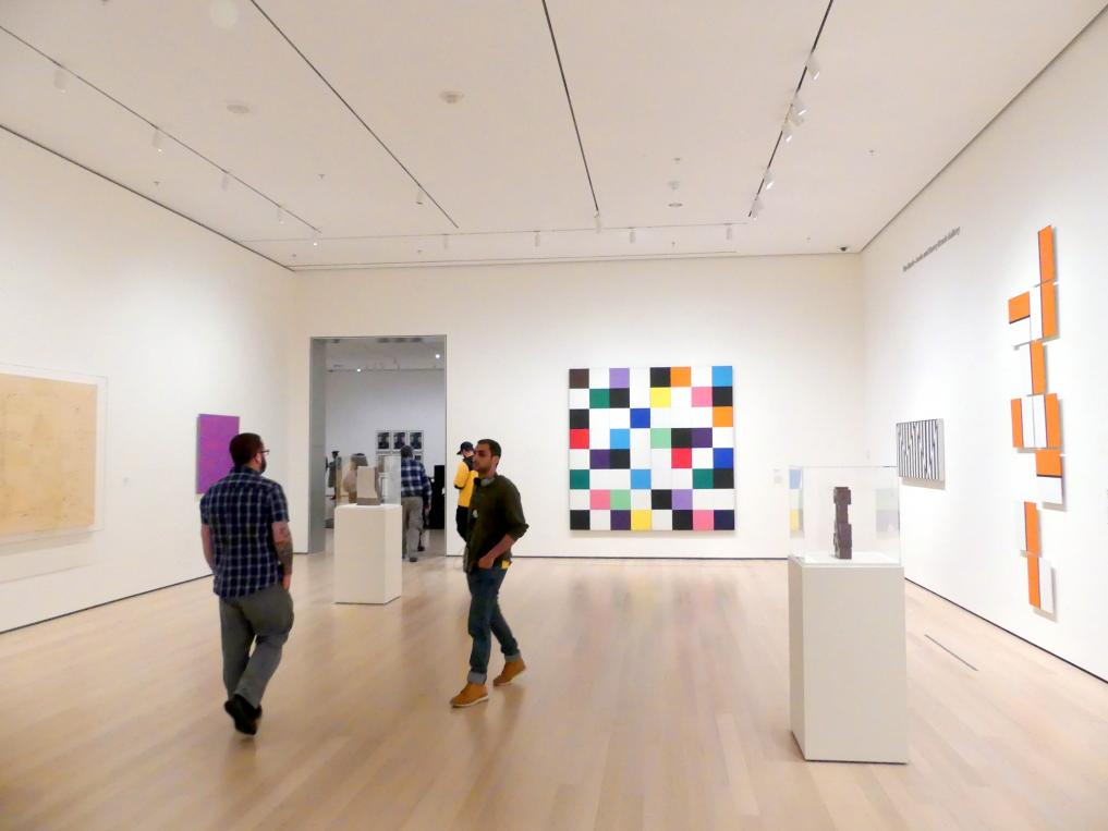New York, Museum of Modern Art (MoMA), Saal 406, Bild 1/4