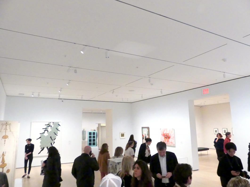 New York, Museum of Modern Art (MoMA), Saal 509, Bild 1/2