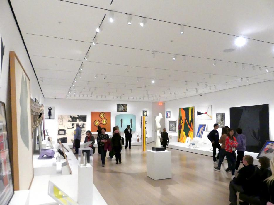 New York, Museum of Modern Art (MoMA), Saal 516, Bild 1/8