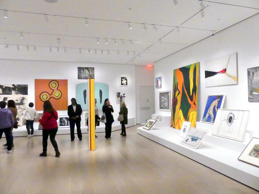 New York, Museum of Modern Art (MoMA), Saal 516, Bild 3/8