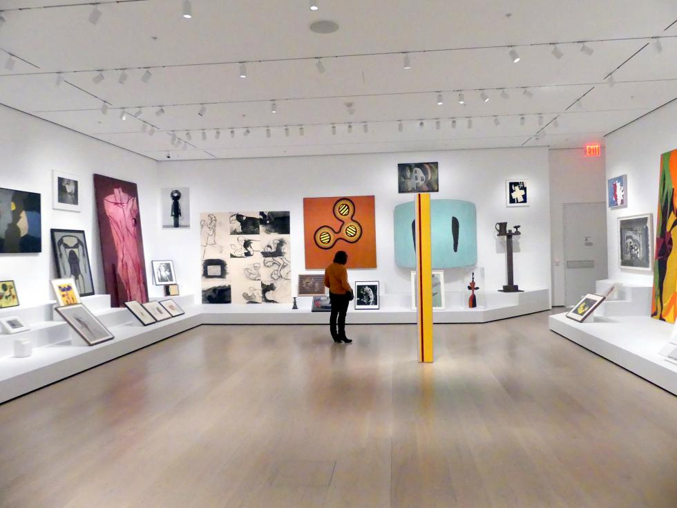 New York, Museum of Modern Art (MoMA), Saal 516, Bild 7/8