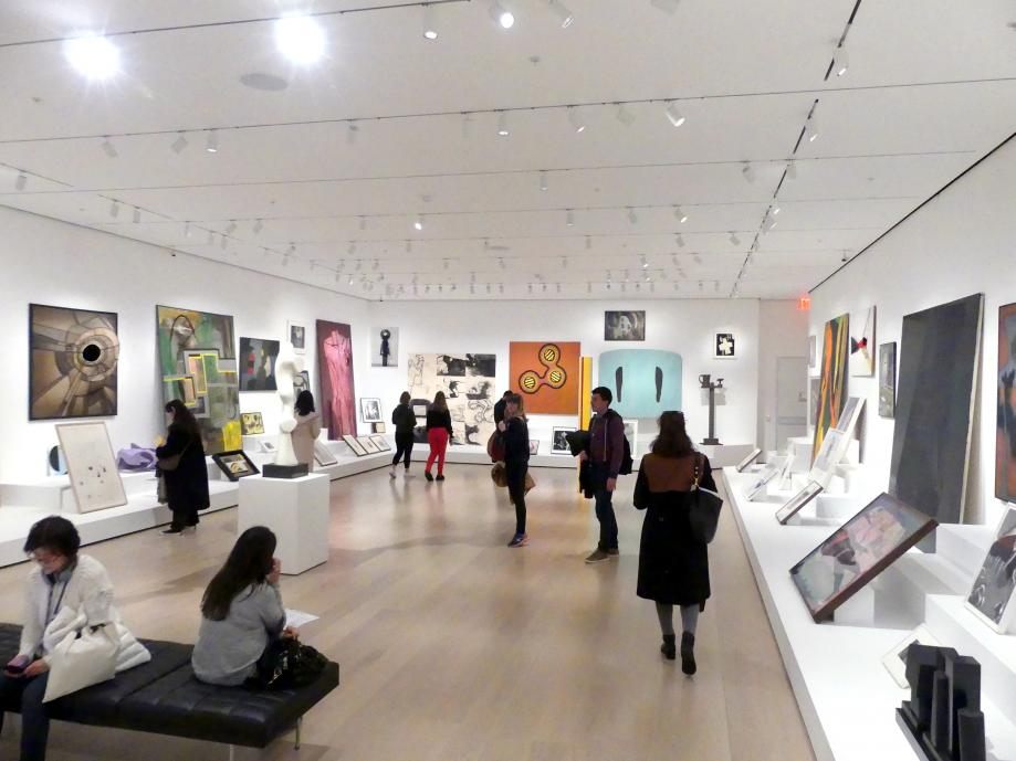 New York, Museum of Modern Art (MoMA), Saal 516, Bild 8/8