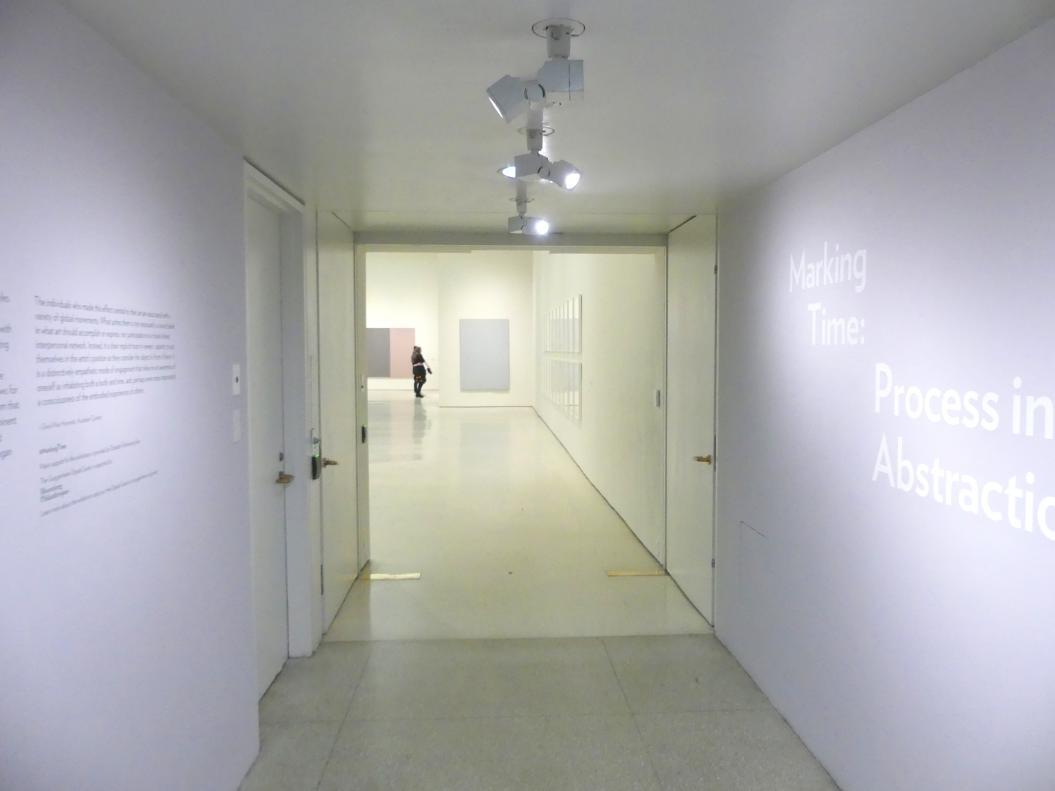 New York, Solomon R. Guggenheim Museum, Marking Time: Process in Minimal Abstraction, Bild 3/5