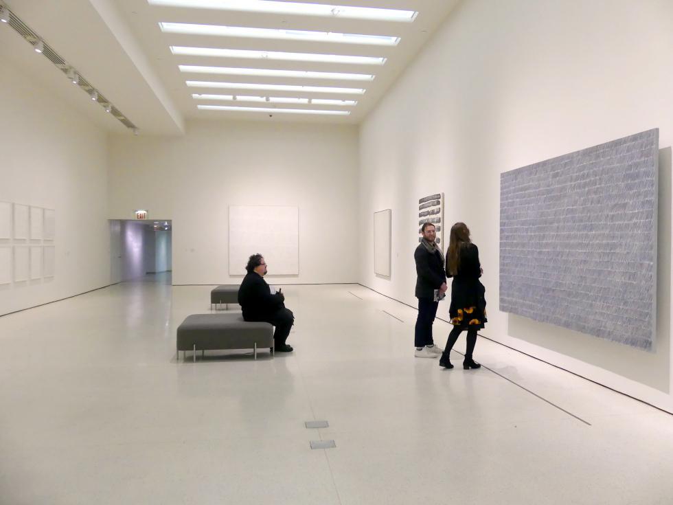 New York, Solomon R. Guggenheim Museum, Marking Time: Process in Minimal Abstraction, Bild 5/5