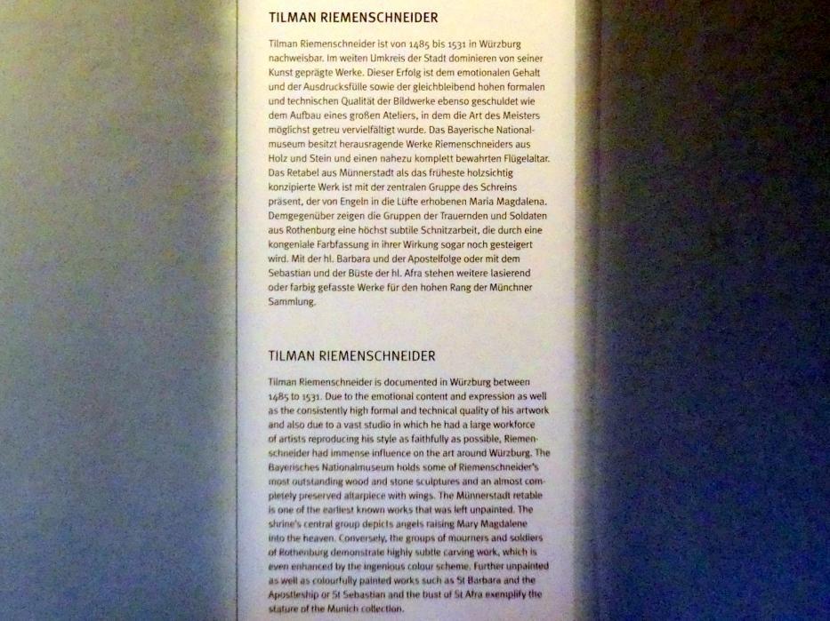 München, Bayerisches Nationalmuseum, Saal 16, Bild 4/4
