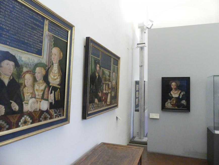 München, Bayerisches Nationalmuseum, Saal 21, Bild 1/4