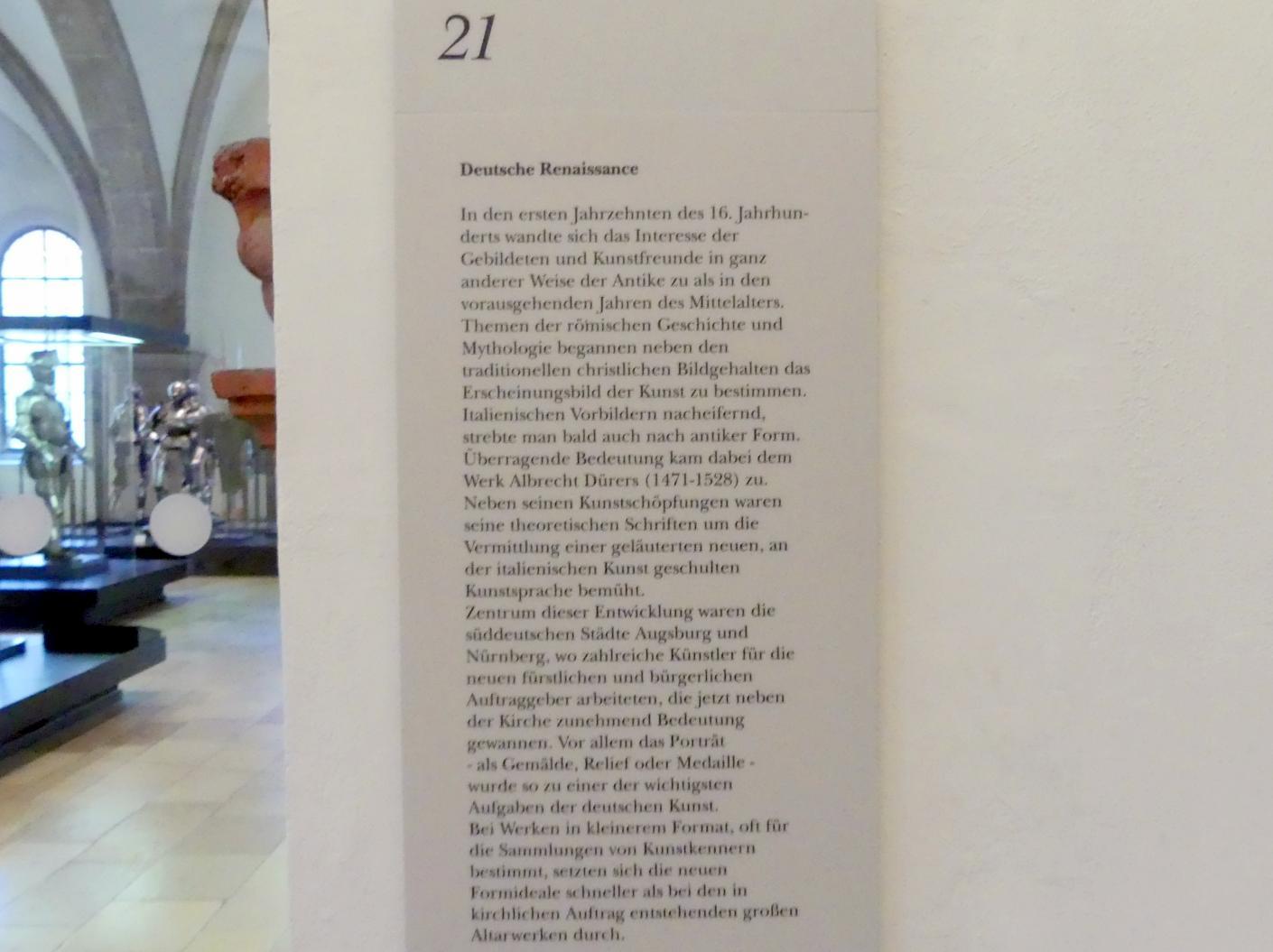 München, Bayerisches Nationalmuseum, Saal 21, Bild 4/4