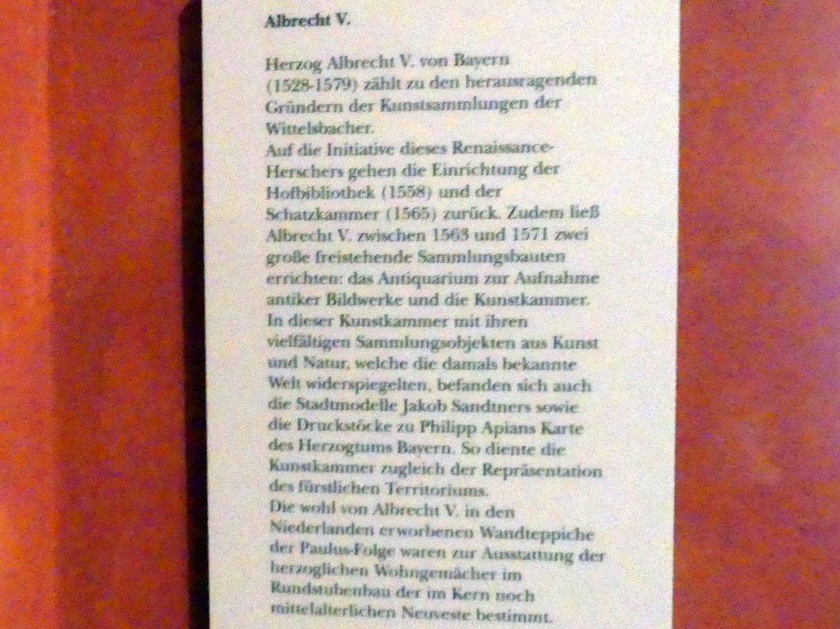 München, Bayerisches Nationalmuseum, Saal 22, Bild 2/2