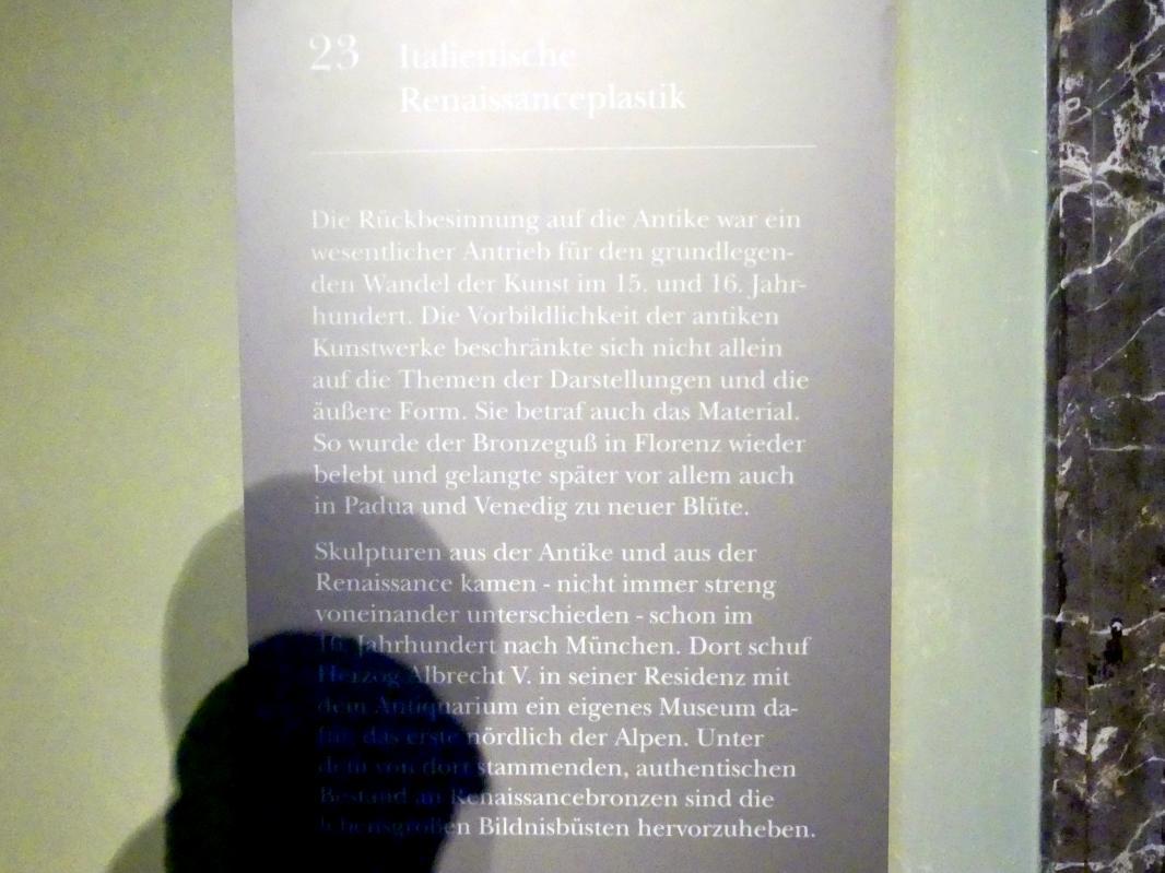 München, Bayerisches Nationalmuseum, Saal 23, Bild 3/3